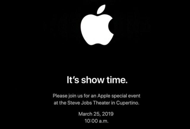 Invitación a la Keynote de Apple