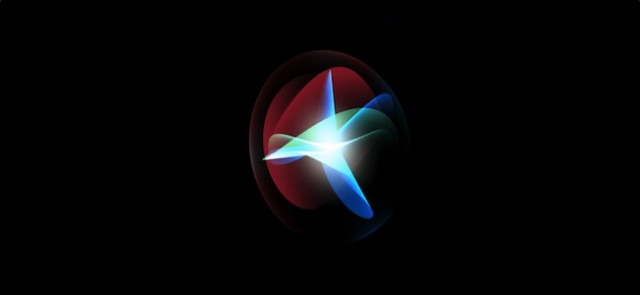 Siri logotipo iPhone