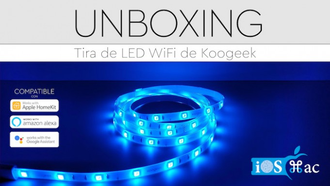 tira LED KOOGEEK