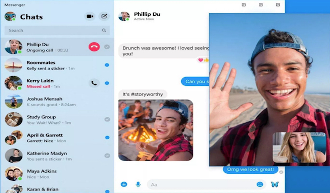 Facebook Messenger app escritorio