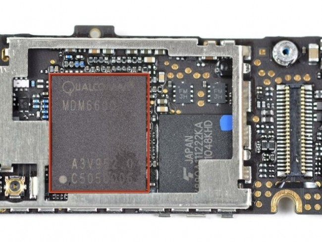 Qualcomm módem iPhone 5G