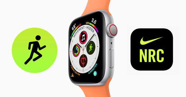Running Apple Watch