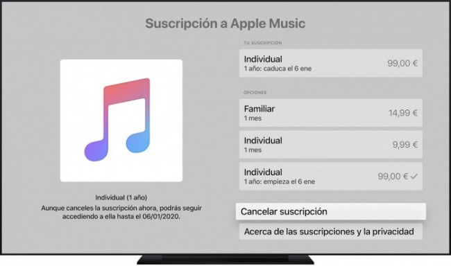 Apple Music Apple TV