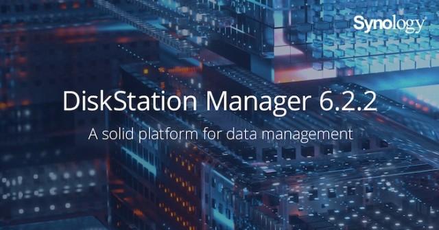 DiskStation Manager 6.2.2