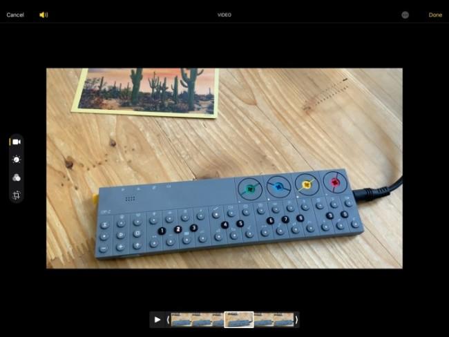 Editar vídeos iPAD OS