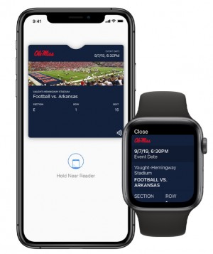 Acceso boletos Apple Wallet