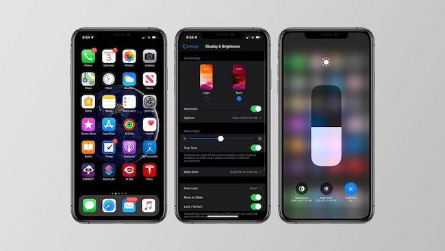 iOS 13 Modo oscuro