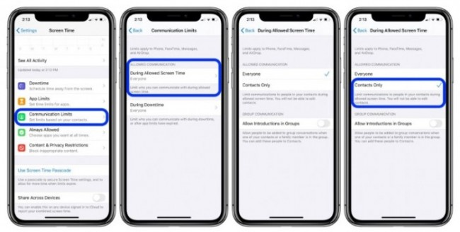 limites-configuracion-650x328 ▷ How to develop interaction limitations with Screen Time in iOS 13?