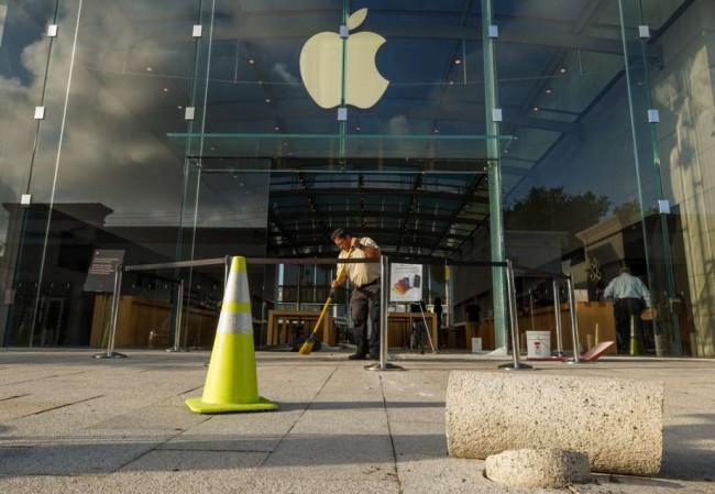 Intento de robo a Apple Store en Texas