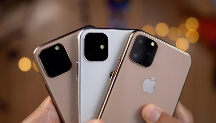 video donde vemos los tres modelos del iPhone 11