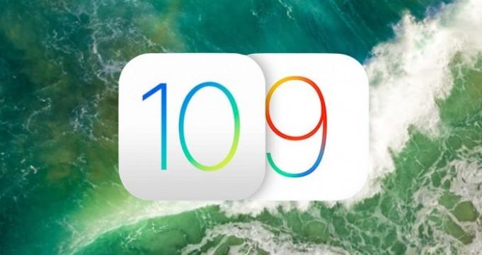 iOS 9.3.6 y iOS 10.3.4