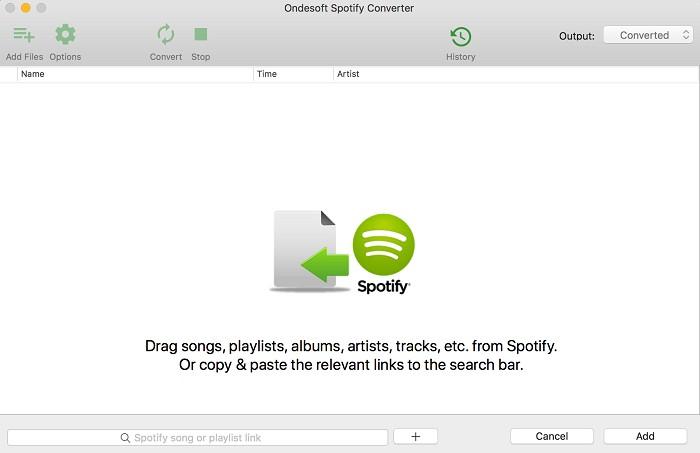 Carpeta Spotify