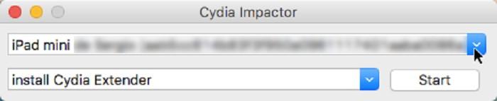 Paso 4 Cydia Impactor
