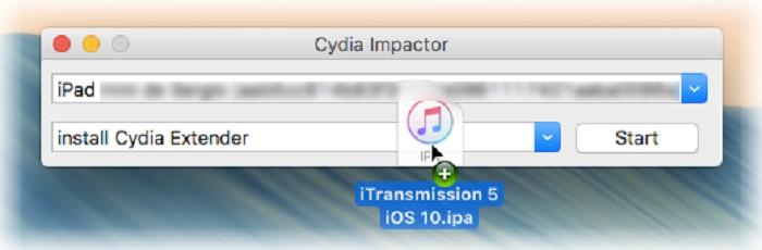 Paso 5 Cydia Impactor