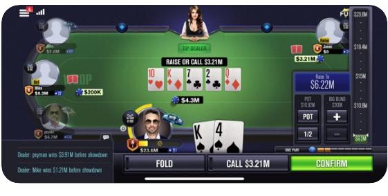 World Series of Poker juegos de apuestas