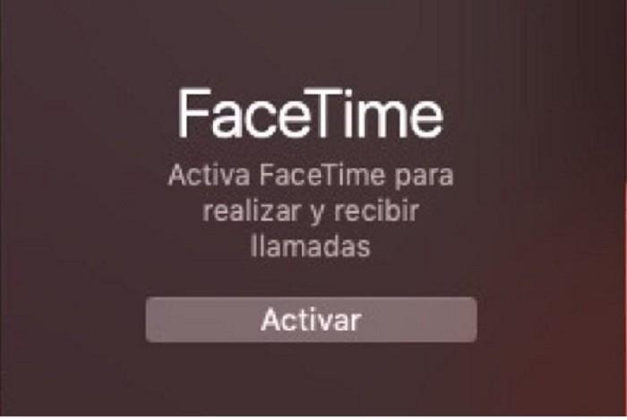 activar FaceTime