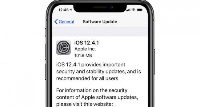 ios 12.4.1 actualización