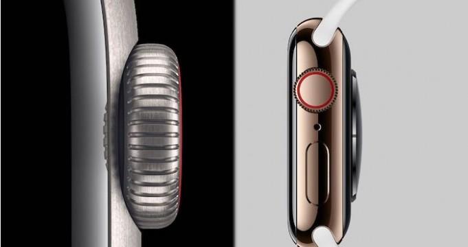 Apple Watch Series 5 titanio y acero inoxidable