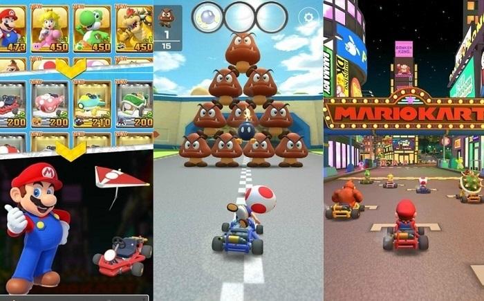 Personajes Mario Kart Tour
