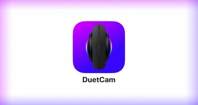 DuetCam es capaz de grabar videos desde la cámara trasera y frontal a la vez