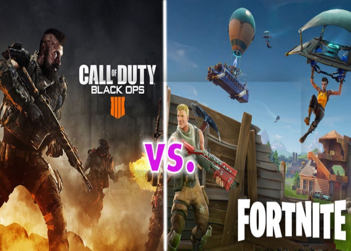 Fornite vs Call of Duty