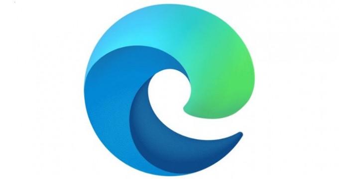 Logo Edge con Chromium