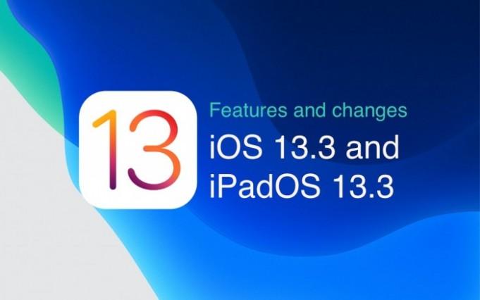 iOS 13.3 y iPadOS 13.3