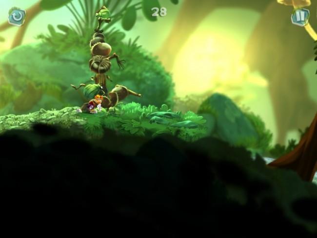 Rayman Mini jugando