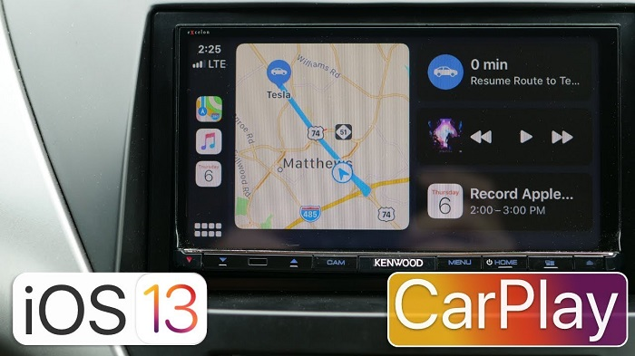 iOS 13 CarPlay