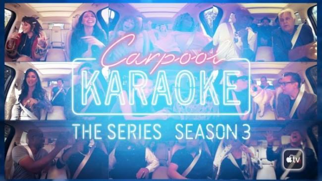 Tercera temporada de Carpool Karaoke en Apple TV+