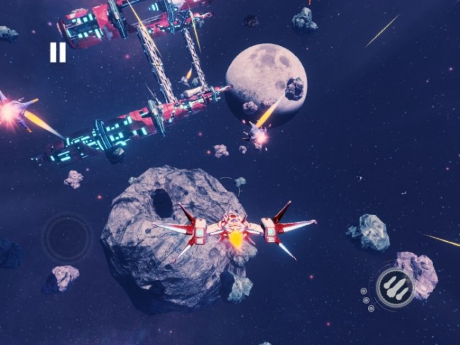 Redout Space Assault game play