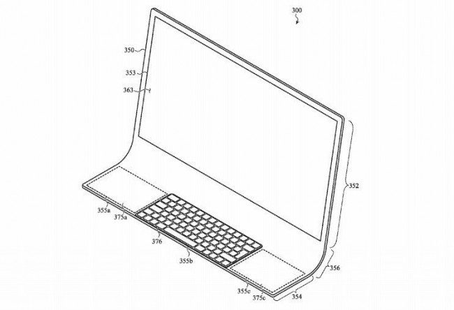 Patente del iMac, de Apple