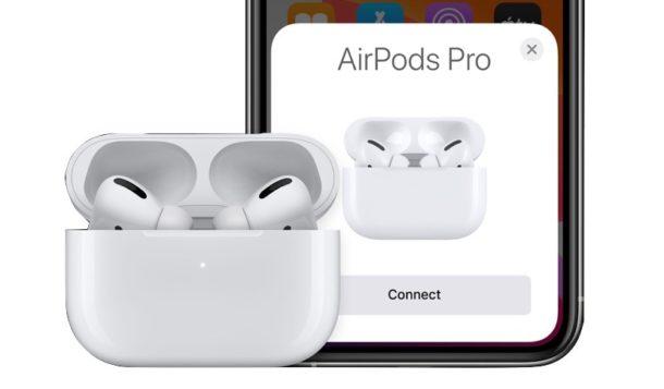 AirPods Pro sincronizados con iPhone