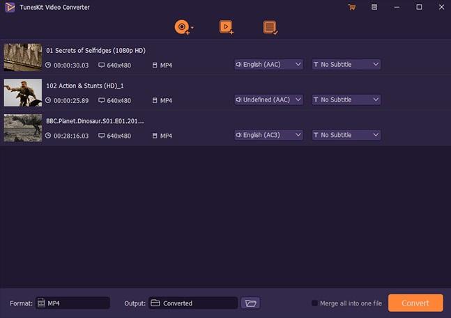 TunesKit Video Converter