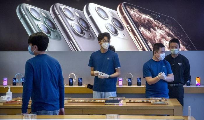 Apple dona mascarillas en Europa para prevenir el COVID-19