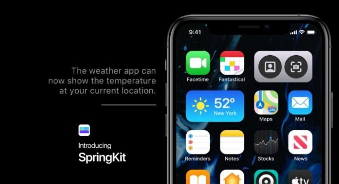 Springkit iOS 14 Concepto