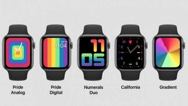 Nuevas carátulas Pride Apple Watch