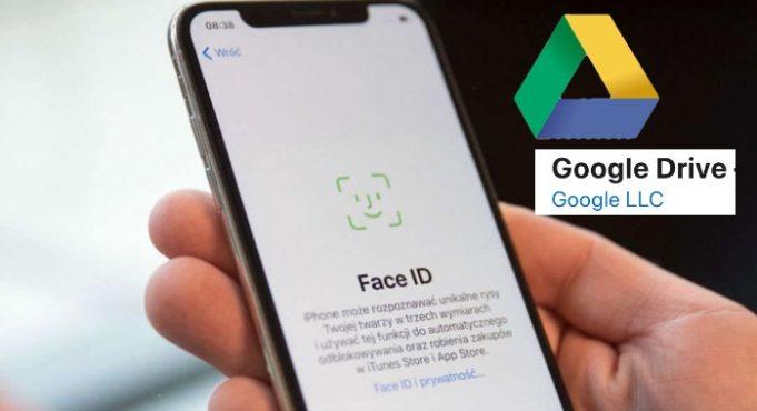 Google Drive Face ID