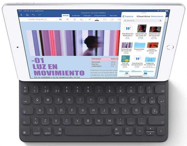 iPad de 2019 y el Smart Keyboard