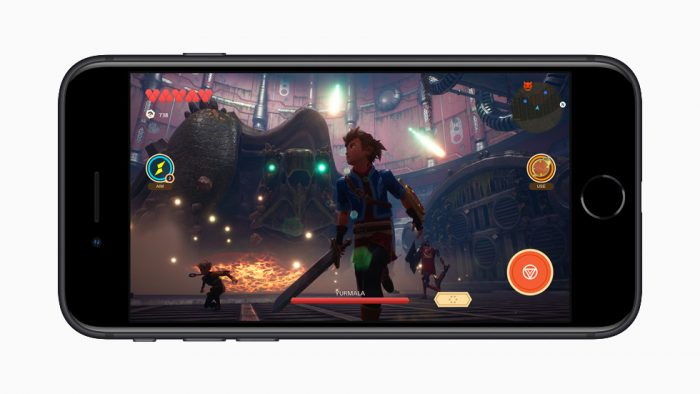 iPhone SE 2020, videojuegos