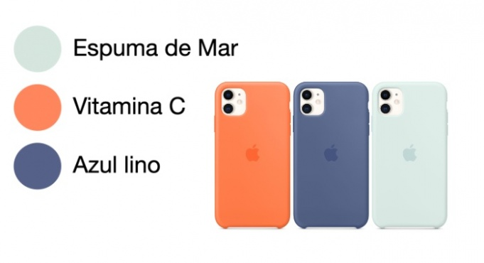 Nuevos colores para la funda silicona iphone 11
