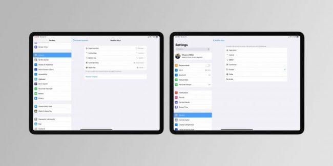 iPadOS nos dejará poner teclados para funciones
