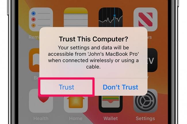 Confiar en el ordenador