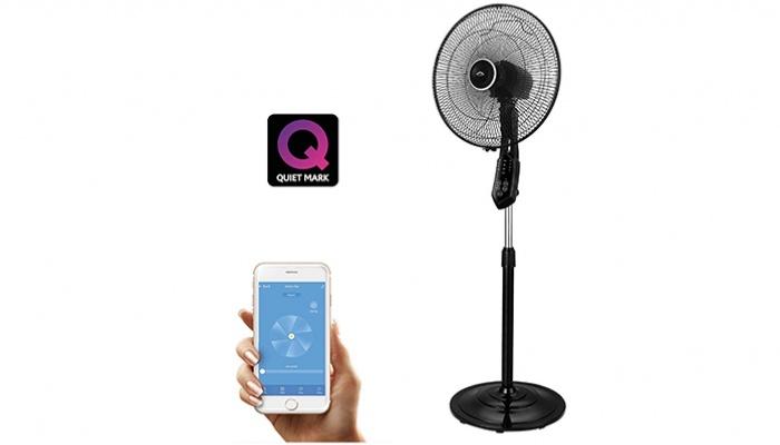 AirGo, el primer ventilador de pie inteligente, imprescindible para el verano