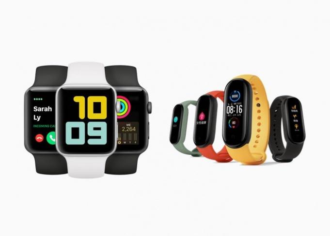 Apple Watch vs Mi Band