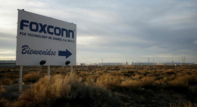 Foxconn iPhone made in México