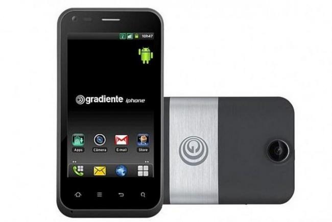 Móvil Gradiente iPhone