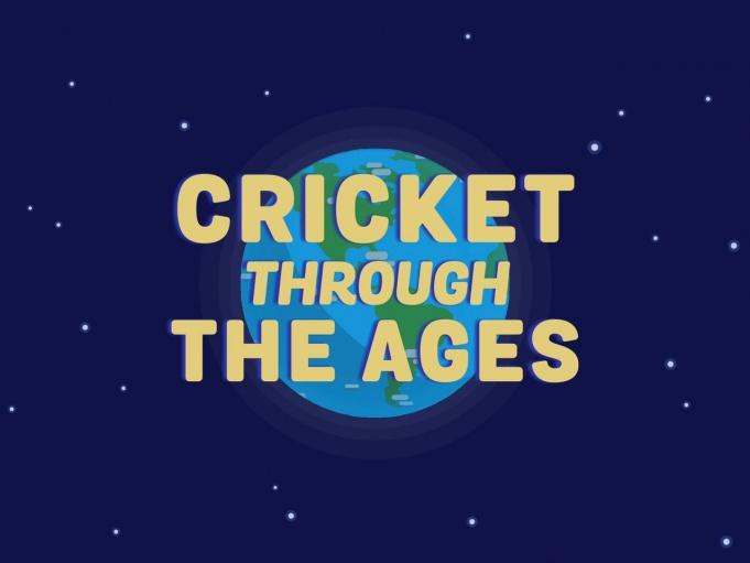 Pantalla de inicio de Cricket Through The ages