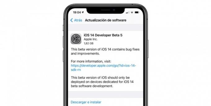 quinta beta para desarrolladores