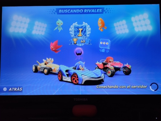 Buscando rivales Sonic Racing